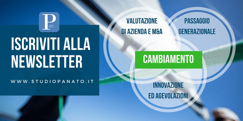 Iscriviti alla nostra newsletter | Commercialista Milano