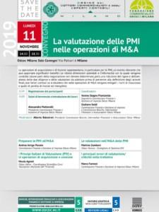 La valutazione delle PMI nelle operazioni di M&A