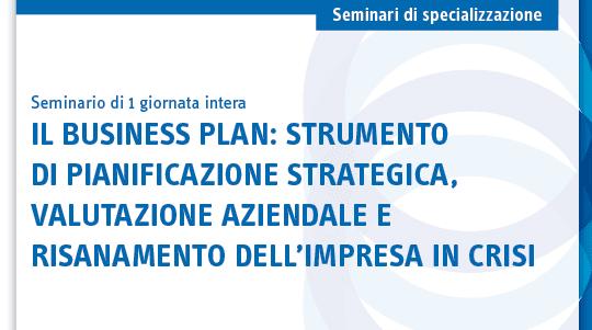 Seminario sul business plan