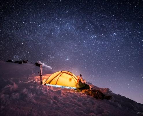 Le stelle, una vetta ed un sogno