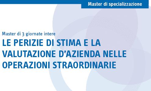 master_valutazione_azienda_operazioni_straordinarie