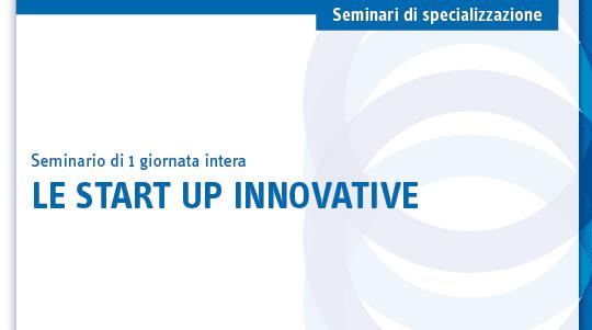 Seminario su Startup e PMI innovative
